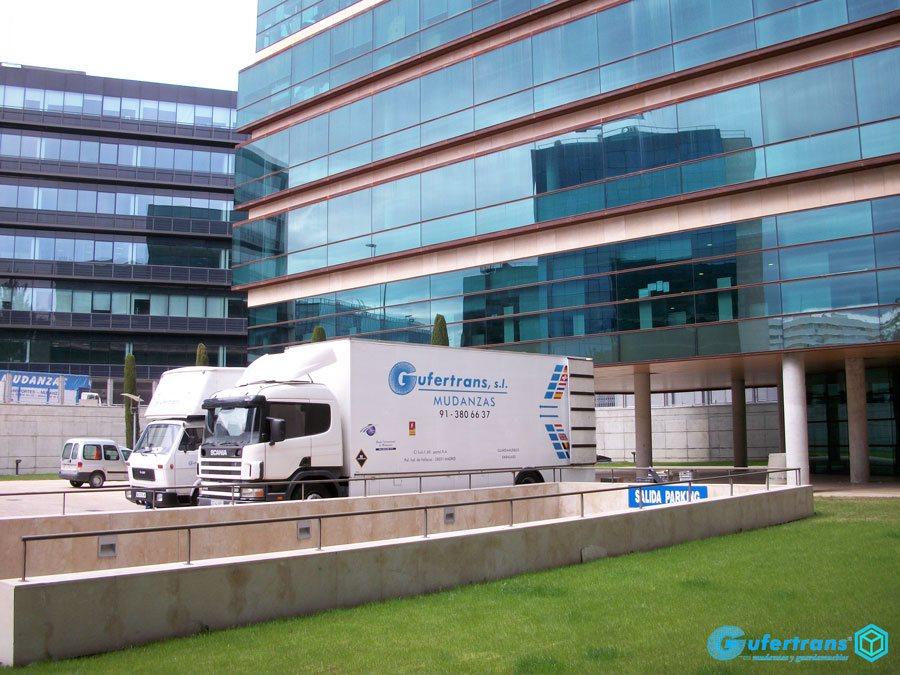 Mudanzas de oficinas para empresas